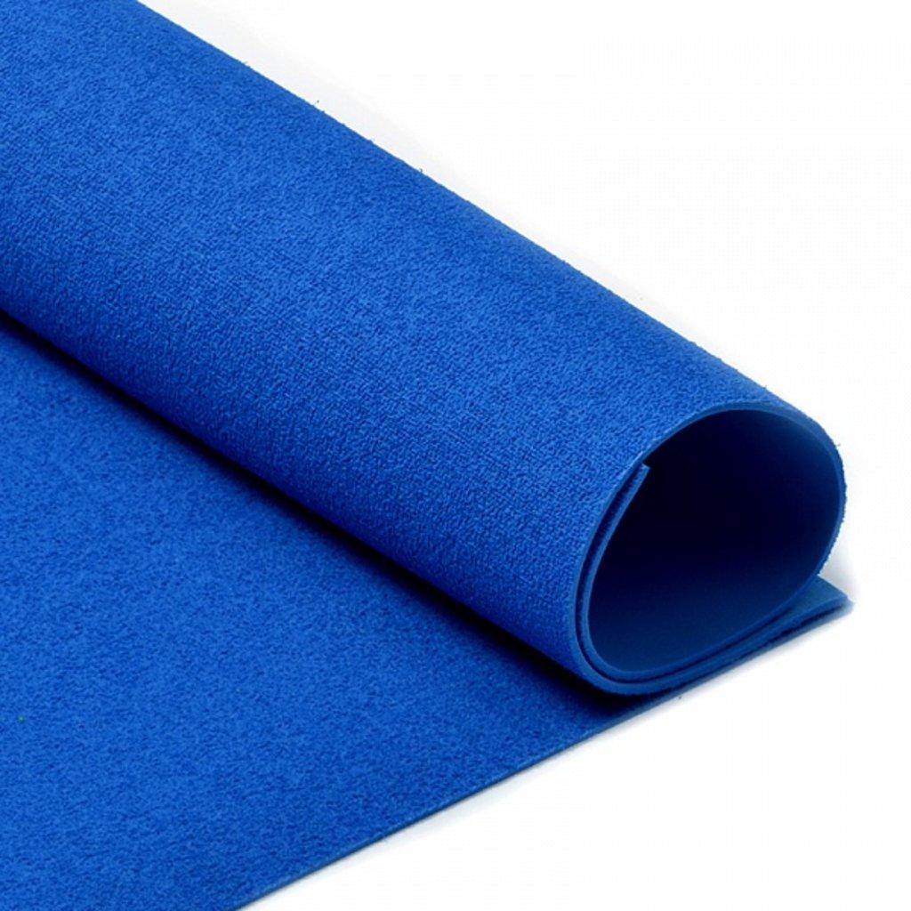 Фоамиран: Фоамиран махровый 2мм 20*30см тёмно-синий, 1 лист в Шедевр, художественный салон