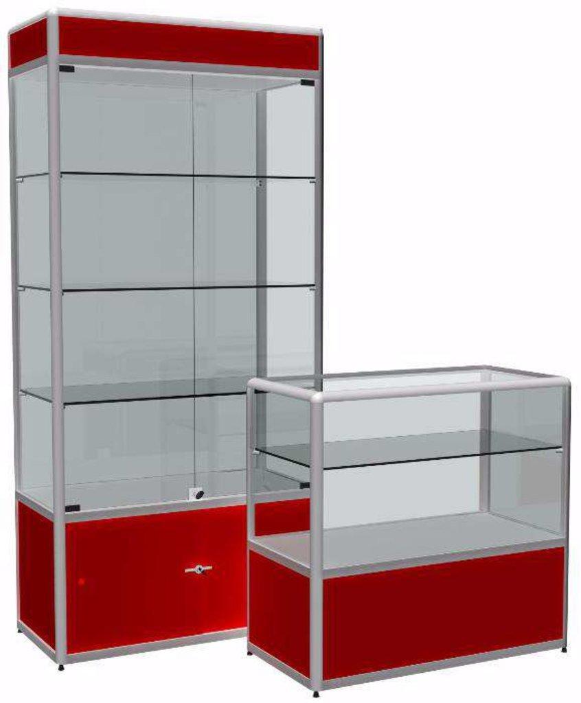 Изготовление мебели: Шкаф-витрина в Мебельстройсервис плюс, ООО