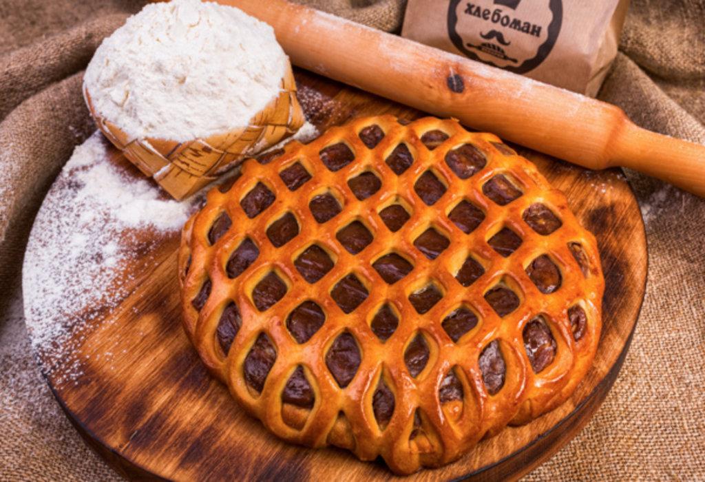 Сладкие пироги: Пирог с бананом и шоколадом в Хлебоман