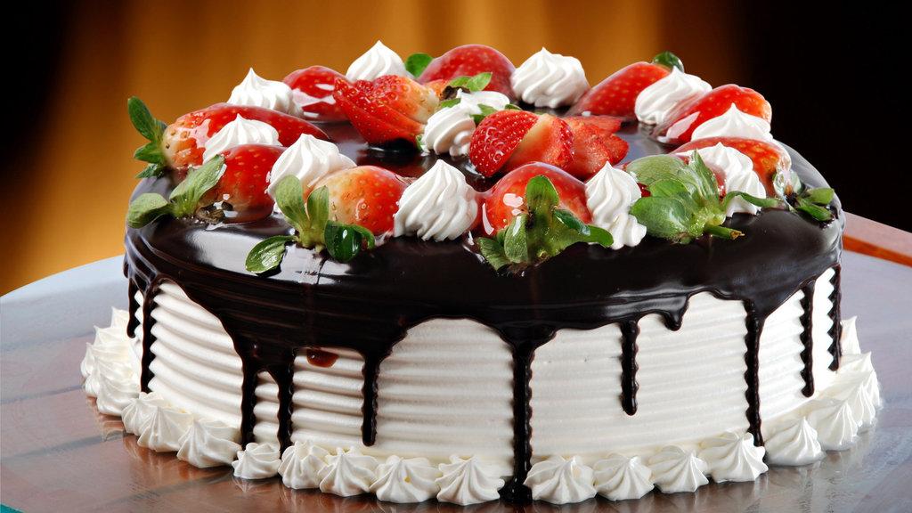 """Торты на заказ: Торт""""Клубнично-шоколадное настроение"""" в Смак-нк.рф"""