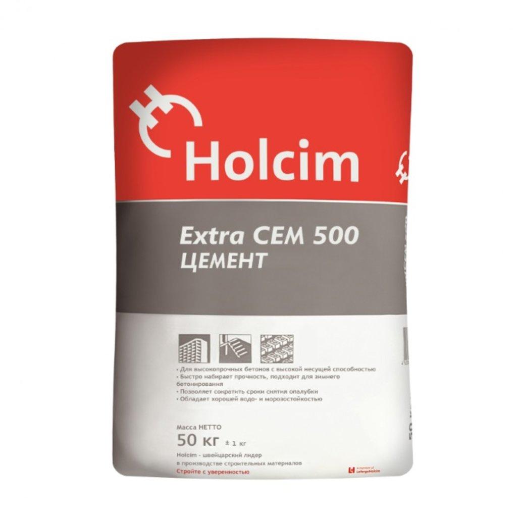 Цемент: Цемент Holcim ExtraCEM ЦЕМ II 42,5Н М500 в АНЧАР,  строительные материалы