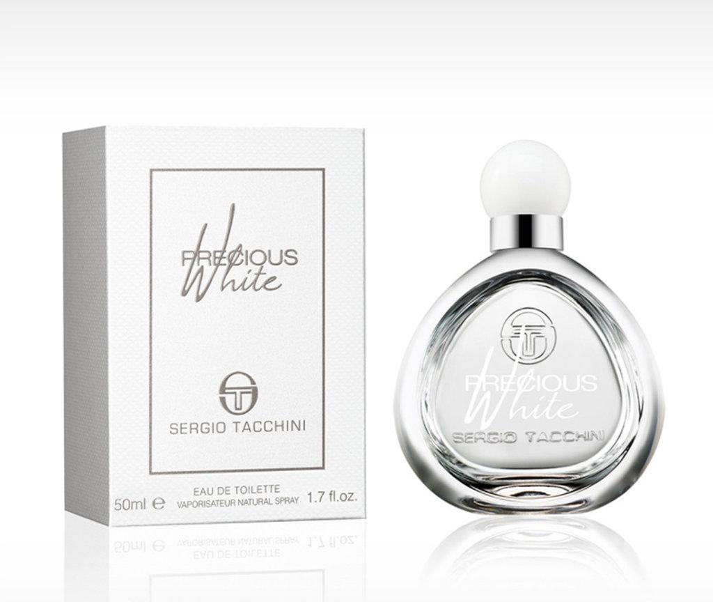 Для женщин: Sergio Tacchini Precious White edt 30   50ml в Элит-парфюм