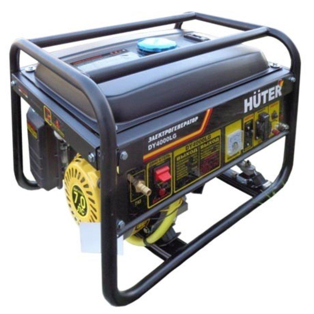 Газовые: Газовый генератор HUTER DY4000LG в РоторСервис, сервисный центр, ИП Ермолаев Д. И.