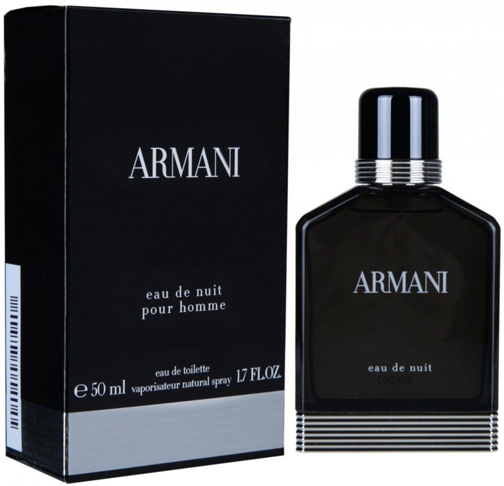 Мужская туалетная вода Armani: Armani Eau De Nuit туалетная вода edt м 100ml в Элит-парфюм