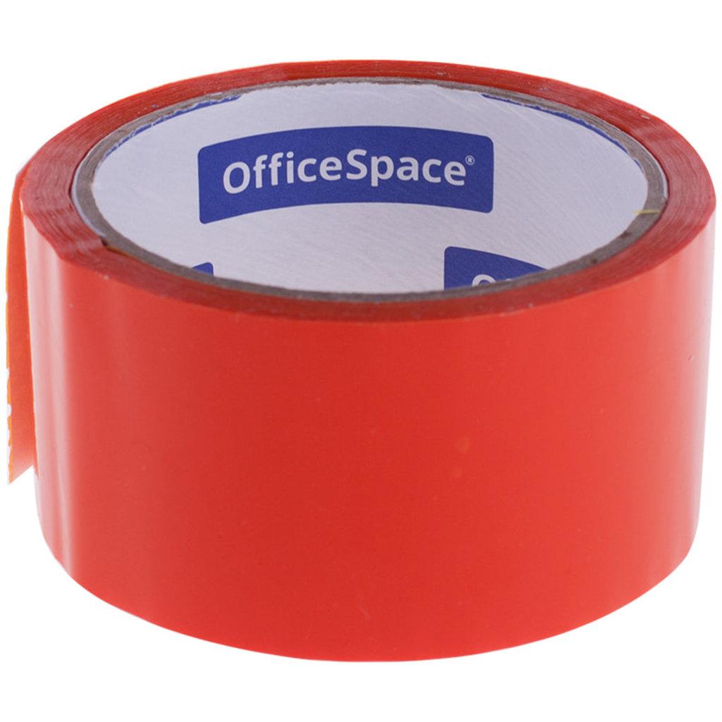 Скотч: Скотч OfficeSpace , 48мм*40м,45мкм, оранжевый ШК КЛ_6289 в Шедевр, художественный салон