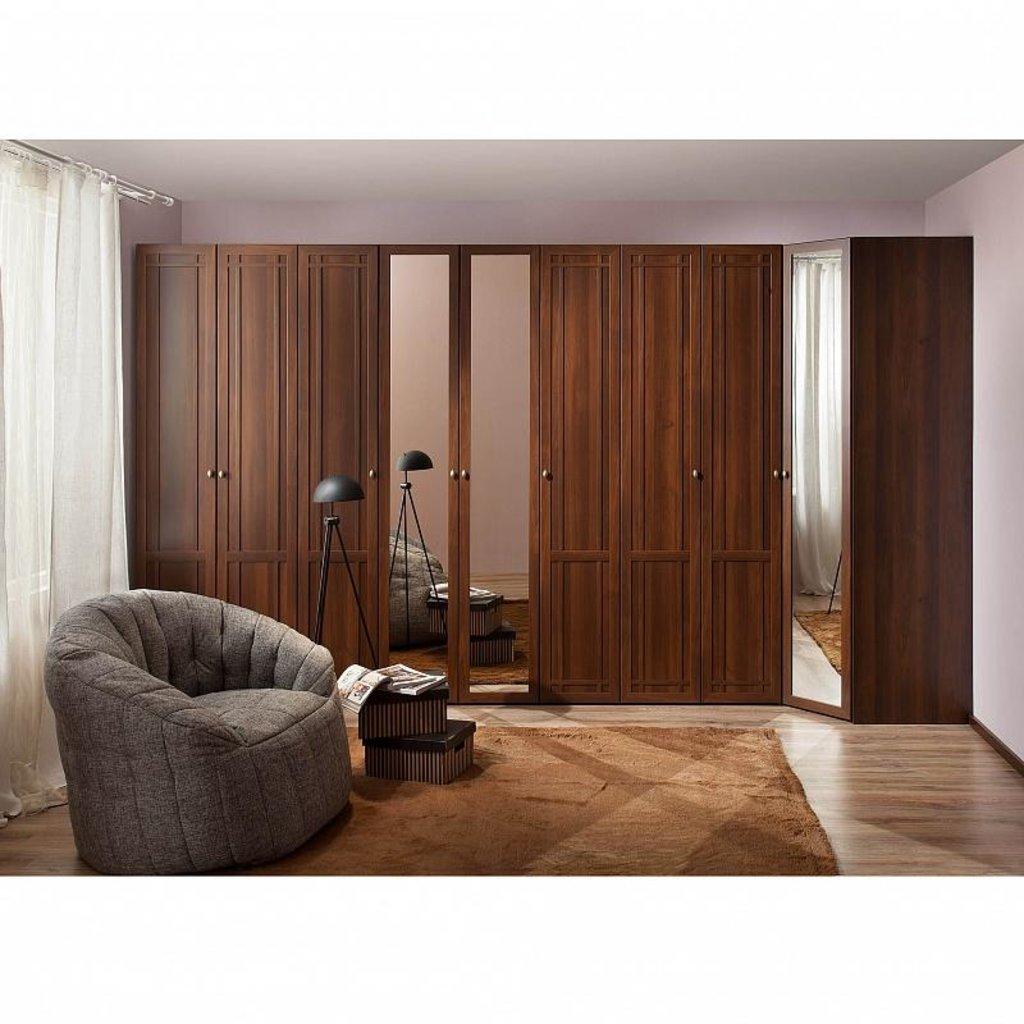 Шкафы для одежды и белья: Шкаф угловой Sherlock 63 (Зеркало) в Стильная мебель