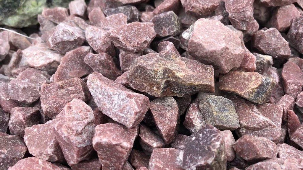 """Камни для парной: """"Кварцит ежевика"""", коробка 20 кг. в Погонаж"""