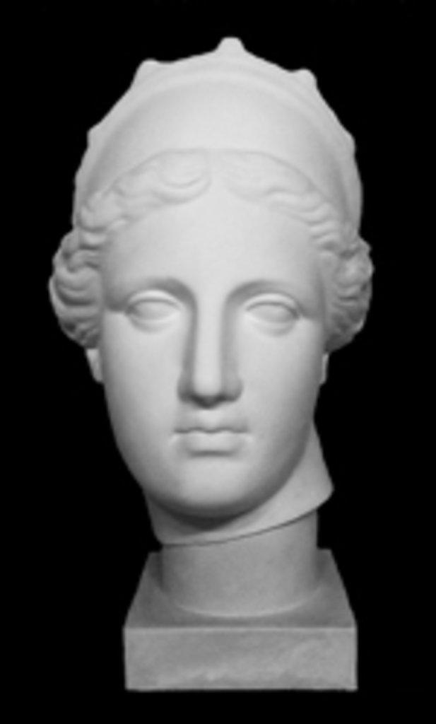 Гипсы: Голова Венера Капуа (с кокошником), гипс в Шедевр, художественный салон
