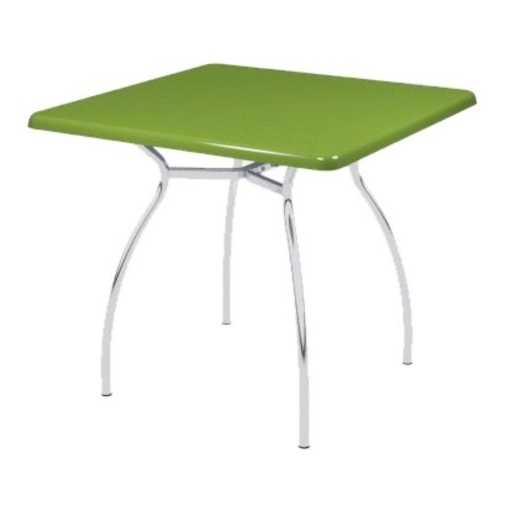 Столы для ресторана, бара, кафе, столовых.: Стол квадрат 78х78, подстолья № 7 серая в АРТ-МЕБЕЛЬ НН