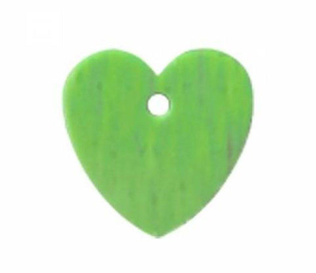 """Сердечки: Пайетки""""сердечки""""10*10мм.,упак/10гр.Астра(цвет:85 салатовый) в Редиант-НК"""