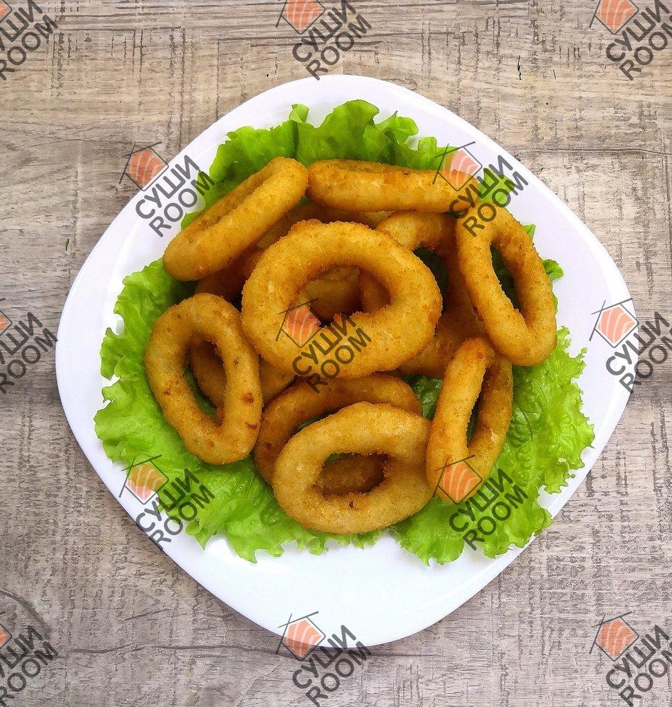 Закуски: Луковые кольца в Суши Room