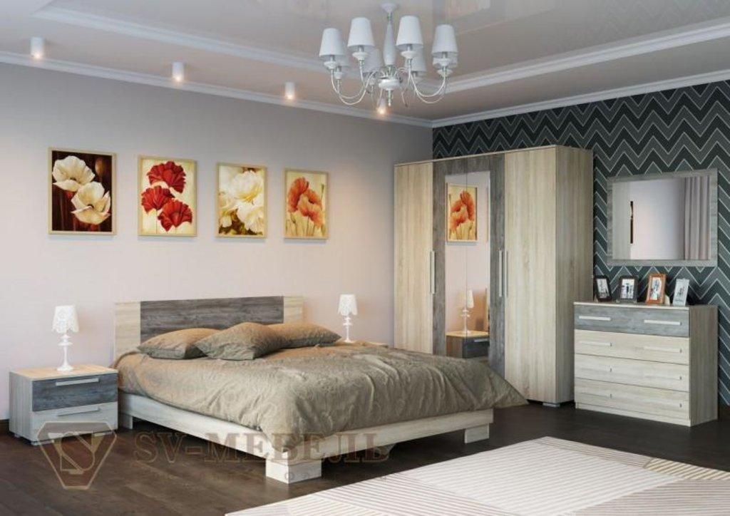 Мебель для спальни Лагуна-2: Зеркало Лагуна-2 в Диван Плюс