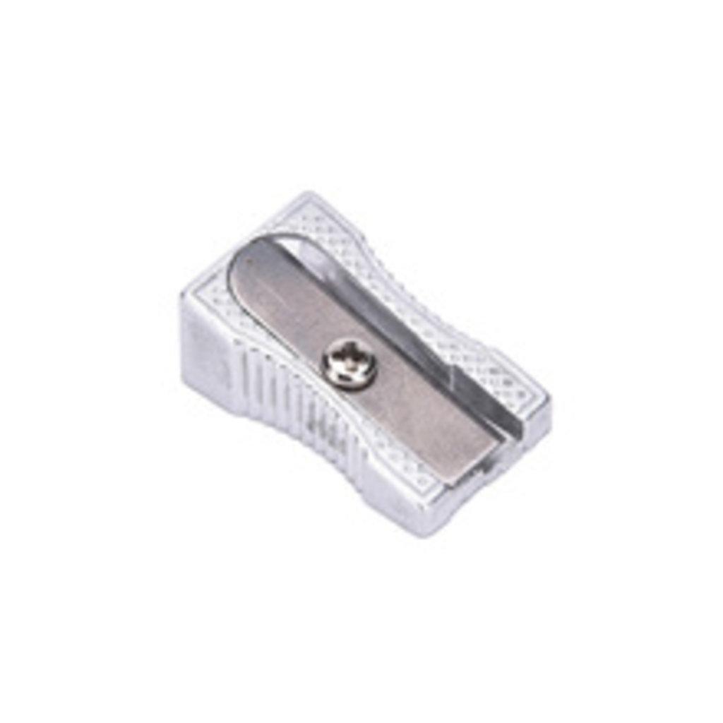 Ластики, точилки: Точилка металлическая 1 отверстие в Шедевр, художественный салон