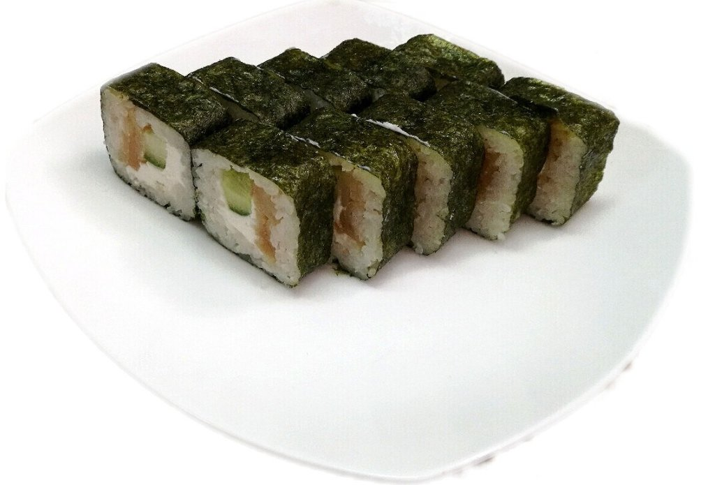 Роллы: Гейша с масляной рыбой в Суши Room