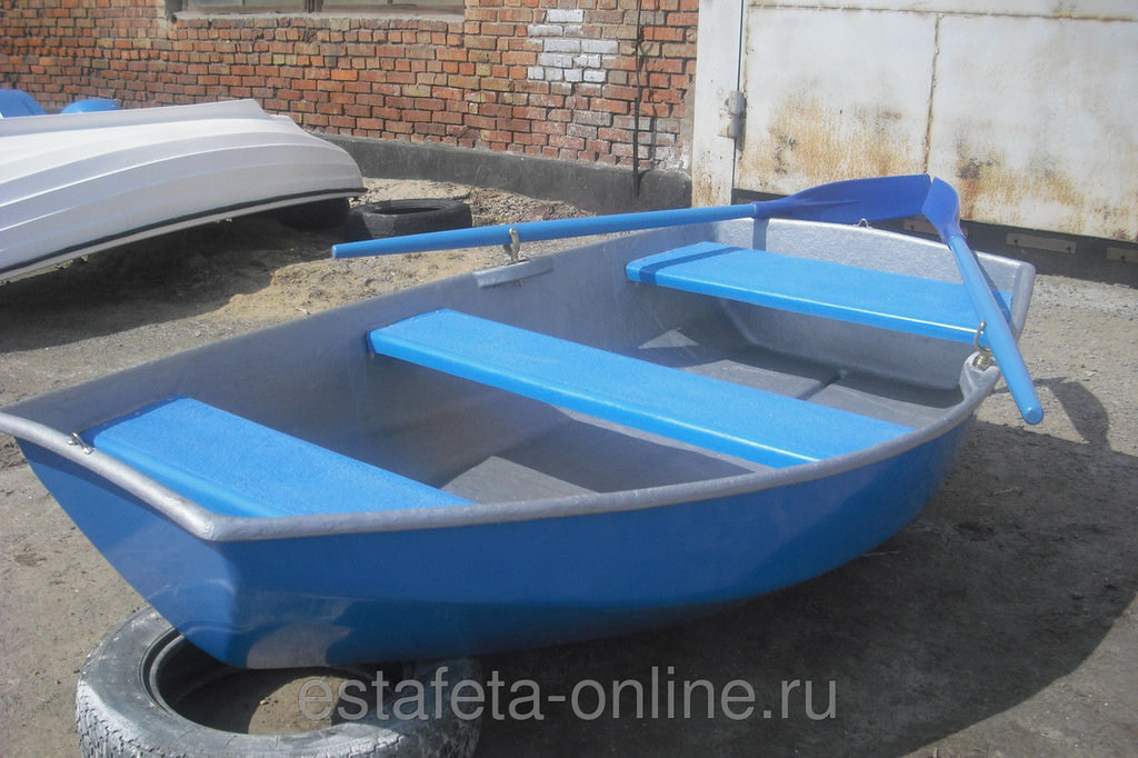 Пластиковые лодки: Лодка гребная «Спрей 230» в Спарта