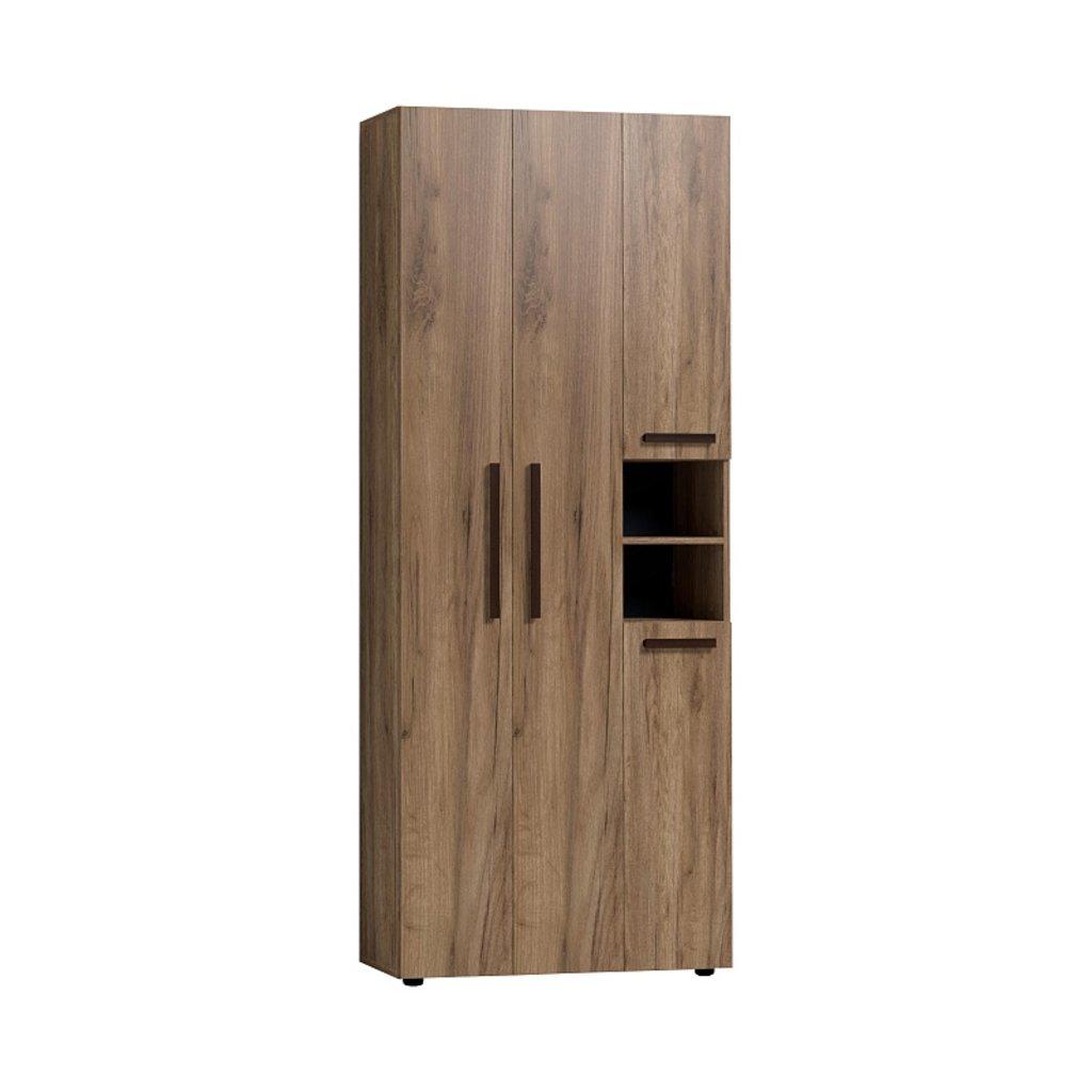 Шкафы для прихожих: Шкаф для одежды и белья Nature 87 (ФАСАД Стандарт) в Стильная мебель