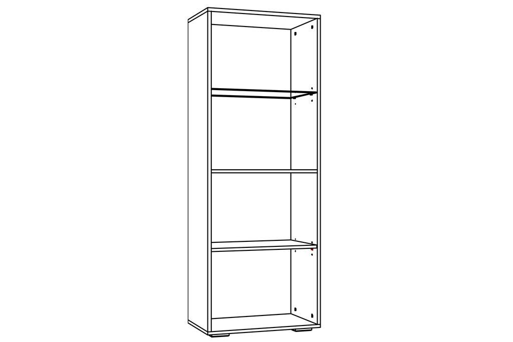 Шкафы, общие: Шкаф комбинированный LIVORNO НМ 011.49-01 в Стильная мебель