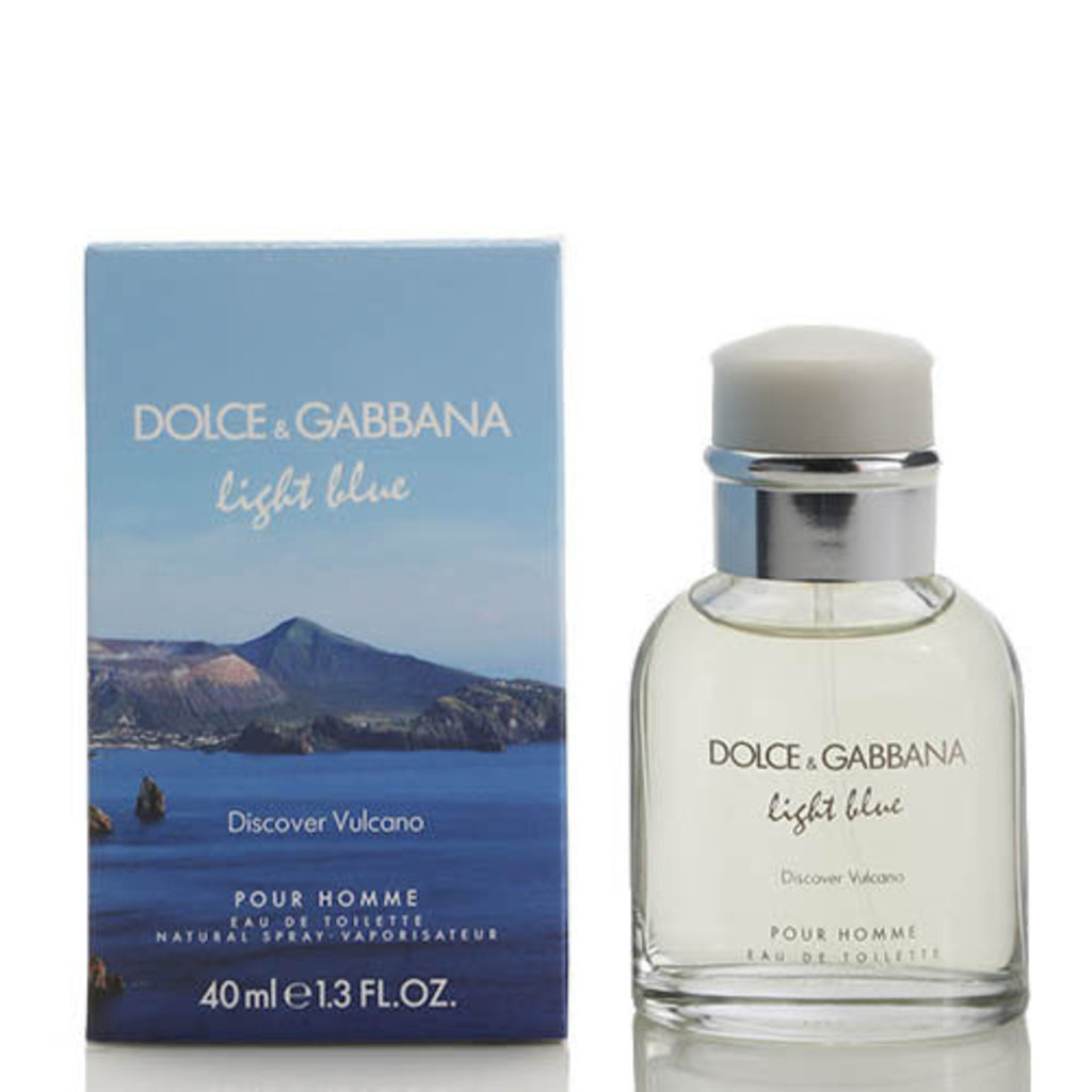 Dolce&Gabbana: D&G Light Blue Discover Vulcano edt м 40   75 ml в Элит-парфюм