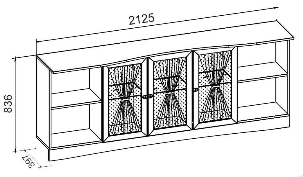 Детские шкафы и стеллажи: Шкаф навесной ADELE 81 в Стильная мебель