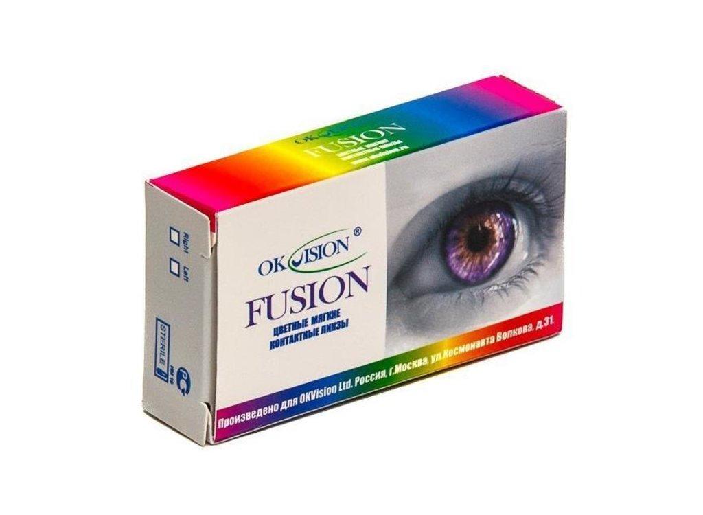 Контактные линзы: Контактные линзы Fusion (2шт / 8.6) Ok Vision в Лорнет