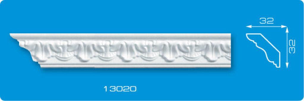 Плинтуса потолочные: Плинтус потолочный ФОРМАТ 13020 инжекционный длина 1,3м, узкий в Мир Потолков