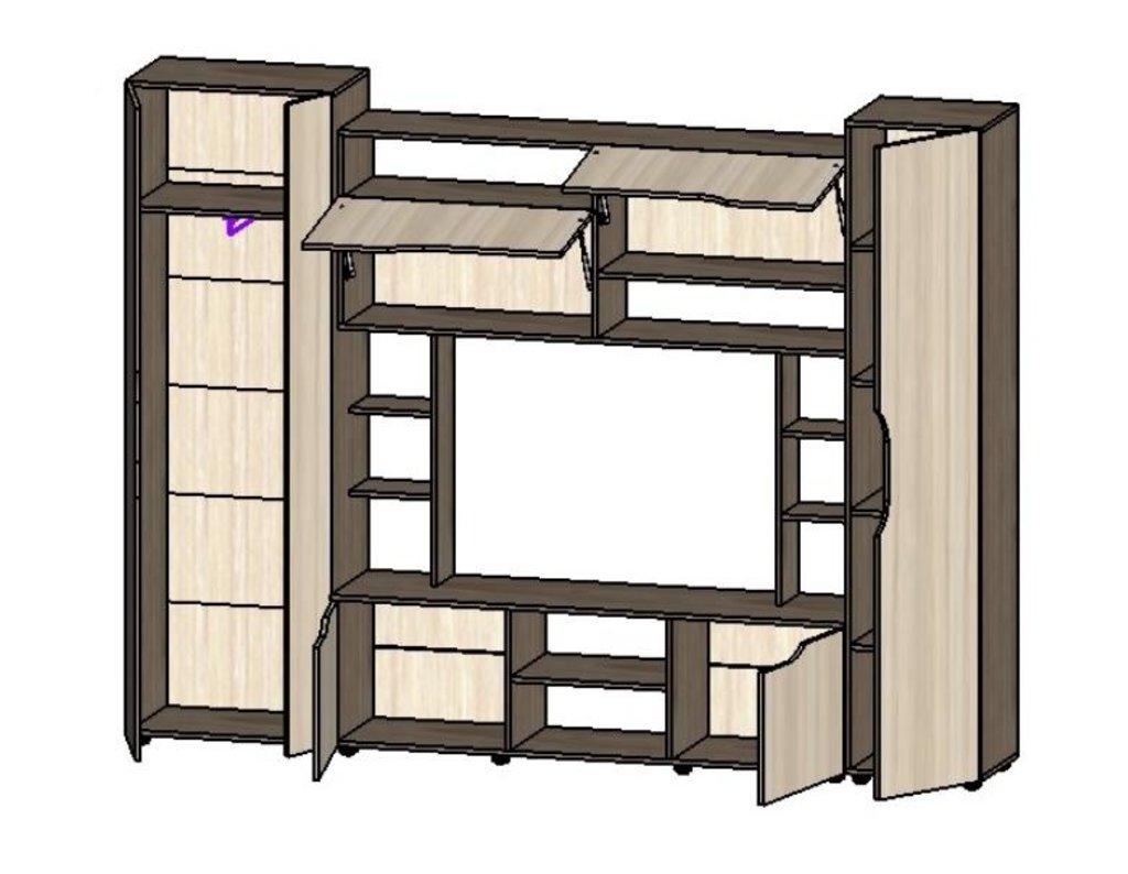 Гостиные: Мебель для гостиной Атлантида - 11 в Диван Плюс