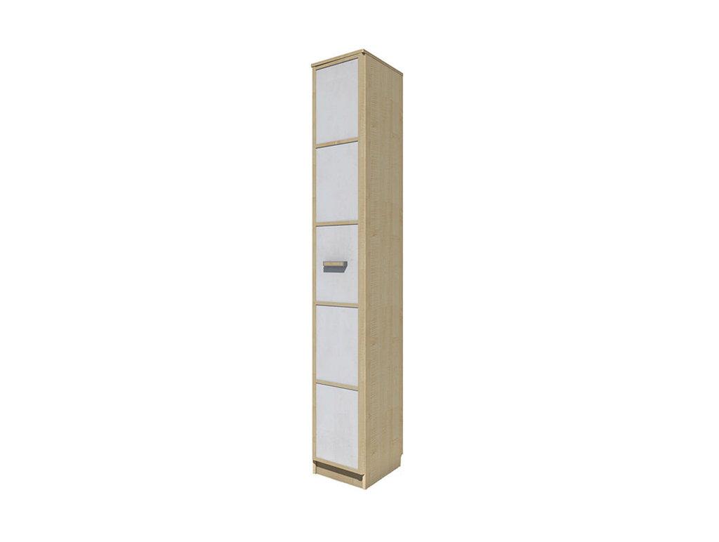 Детские шкафы и стеллажи: Шкаф-пенал скос НМ 013.05-01 ЛВ Фанк в Стильная мебель