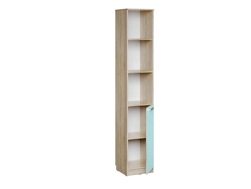 Детские шкафы и стеллажи: Шкаф НМ 013.03-01 Акварель в Стильная мебель