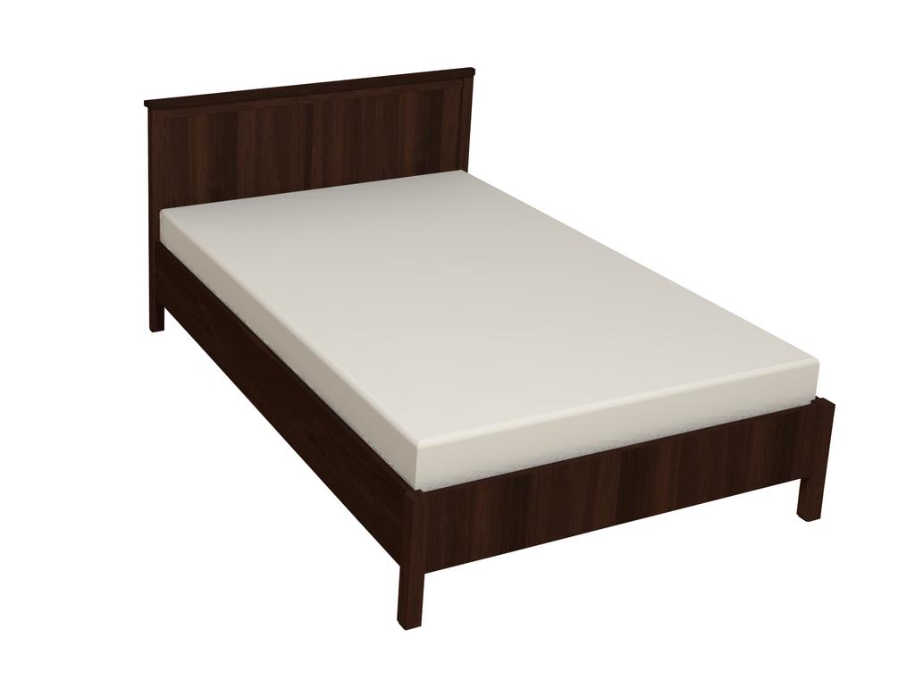 Кровати: Кровать Sherlock 43 (1400, орт. осн. дерево) в Стильная мебель