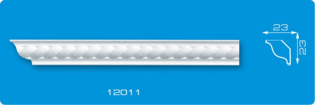 Плинтуса потолочные: Плинтус потолочный ФОРМАТ 12011 инжекционный длина 1,3м, узкий в Мир Потолков