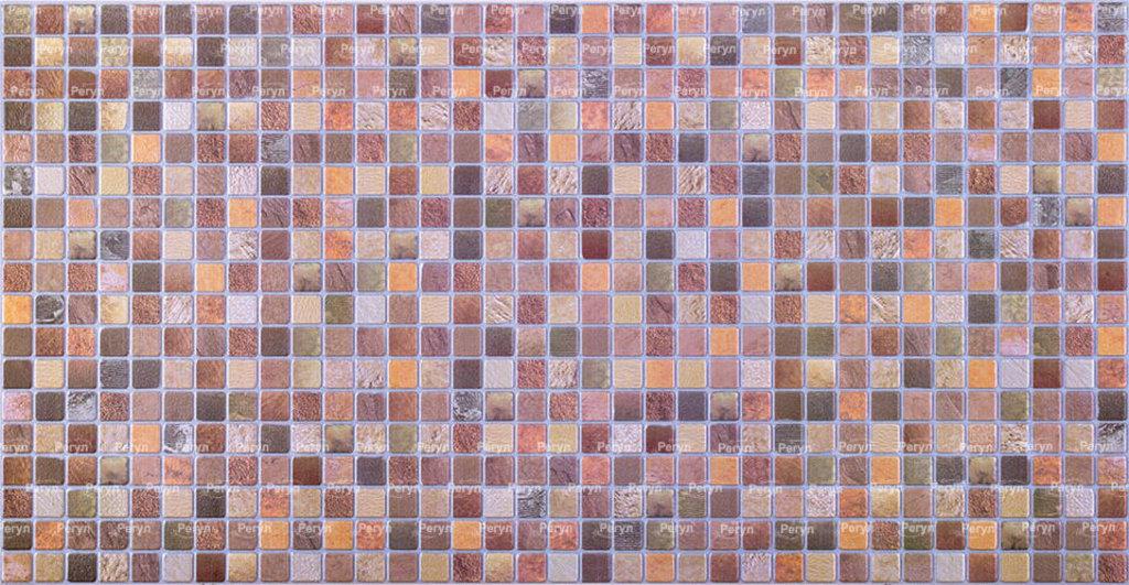 Панели ПВХ: Мозаика Античность коричневая в Мир Потолков