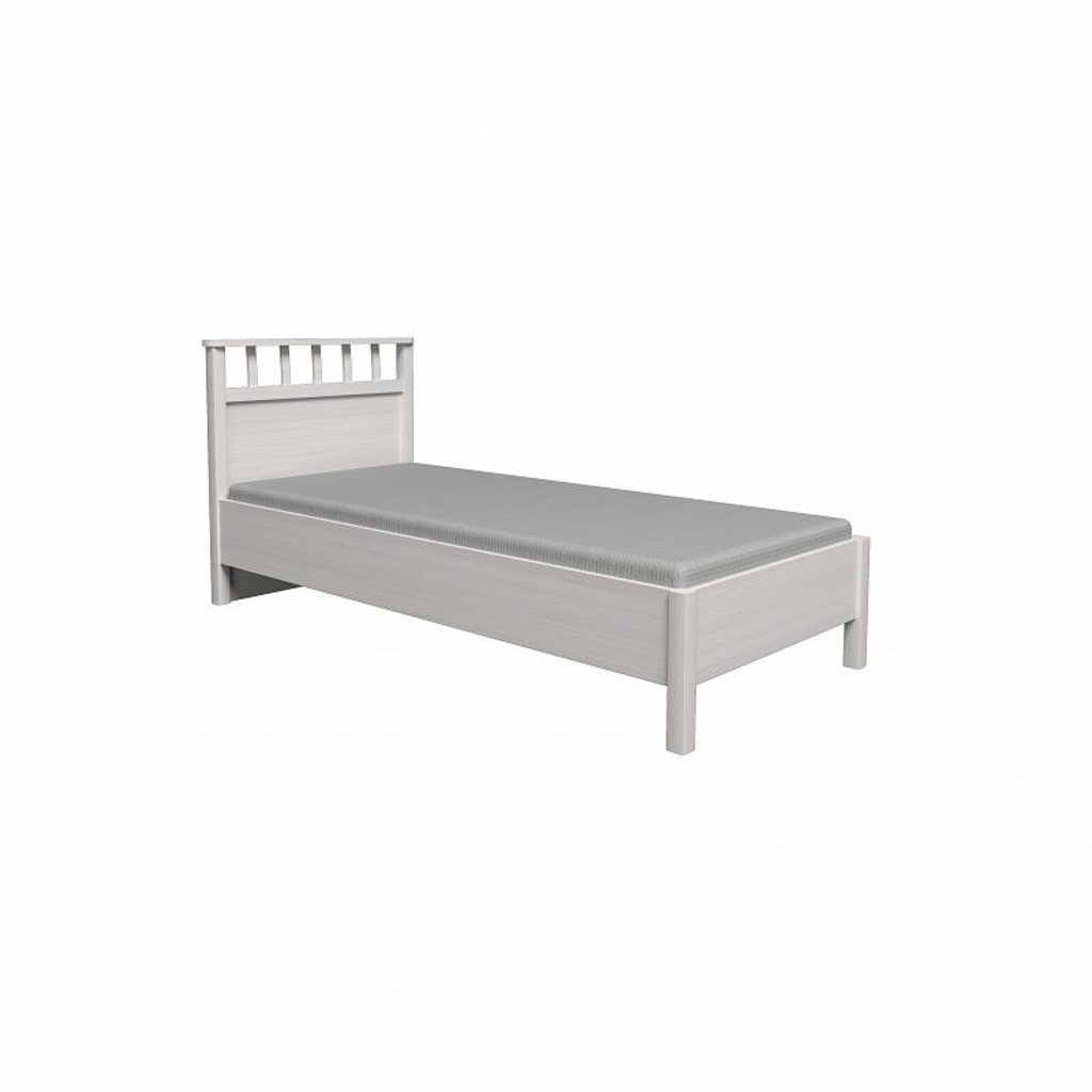 Кровати: Кровать Люкс Sherlock 50 (900, орт. осн. металл) в Стильная мебель