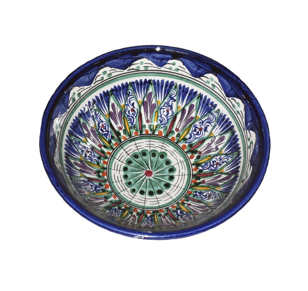Мангалы. Казаны. Узбекская и турецкая посуда: Коса для первых блюд Риштанская керамика в Сельский магазин