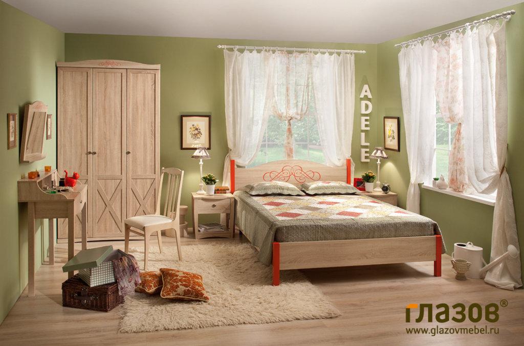 Кровати: Кровать ADELE 5 (900, орт. осн. дерево) в Стильная мебель