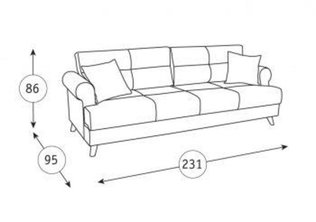 Диваны Мирта: Диван-кровать Мирта ТД 307 в Диван Плюс