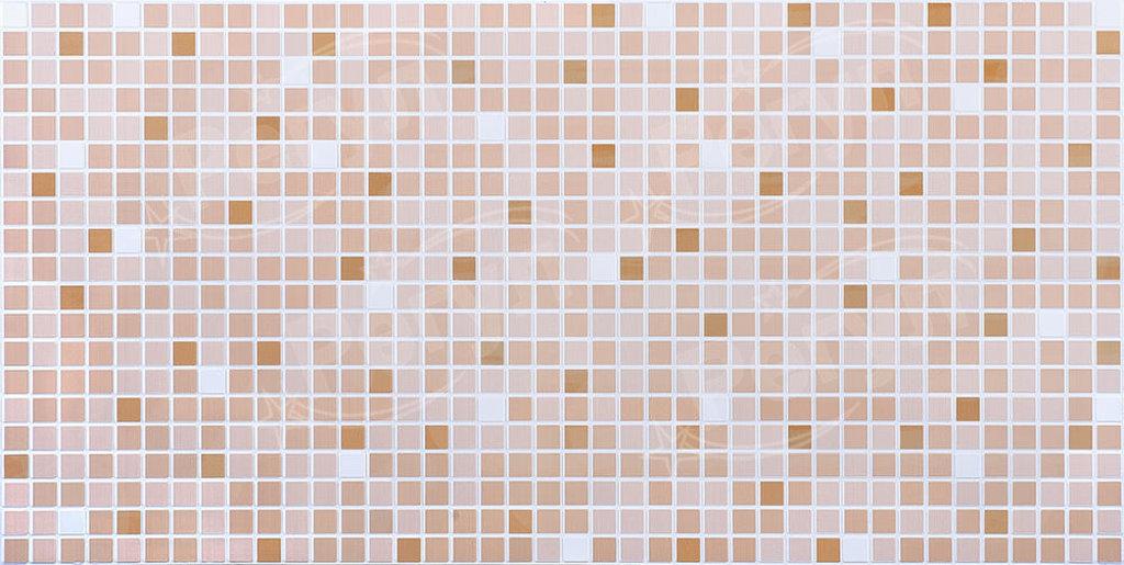 Панели ПВХ: Мозаика Оранжевый микс в Мир Потолков