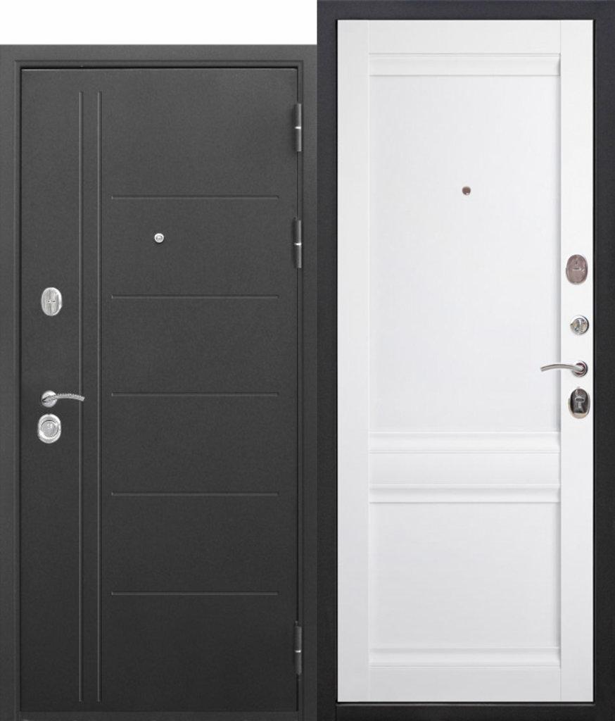 Двери завода Феррони: 10 см Троя Муар Эш вайт Царга в Модуль Плюс