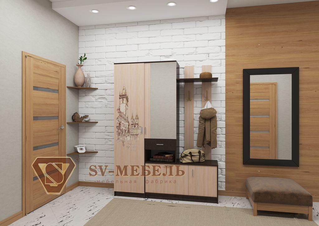 Прихожие: Мебель для прихожей Виза-15 в Диван Плюс