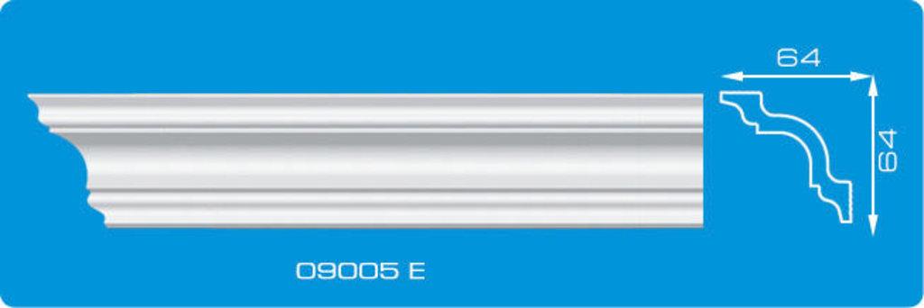 Плинтуса потолочные: Плинтус потолочный ФОРМАТ 09005 Е экструзионный длина 2м в Мир Потолков