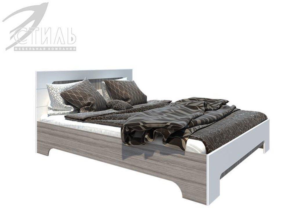 Мебель для спальни Палермо: Кровать двухспальная Палермо (1400*2000) в Диван Плюс