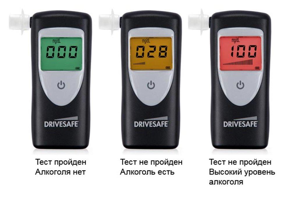 Алкотестеры: Drivesafe II в Техномед, ООО