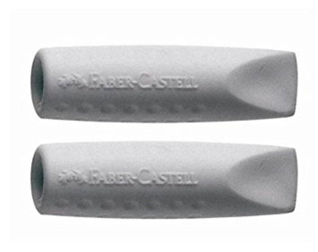 """Ластики, точилки: Ластики-колпачки Faber-Castell """"GRIP 2001"""" 2шт в Шедевр, художественный салон"""
