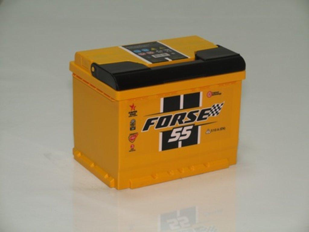 Аккумуляторы автомобильные: FORSE 55 А/Ч R в Мир аккумуляторов