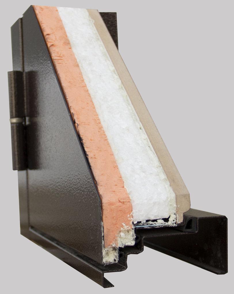 Двери Алмаз  с терморазрывом: Яшма Термо в Модуль Плюс