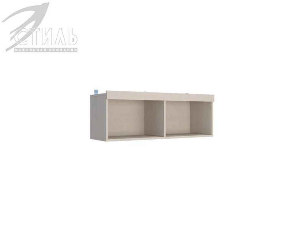 Мебель для детской Мийа - 3 (дуб молочный, фотопечать): Полка навесная ПН-306 Мийа - 3 в Диван Плюс