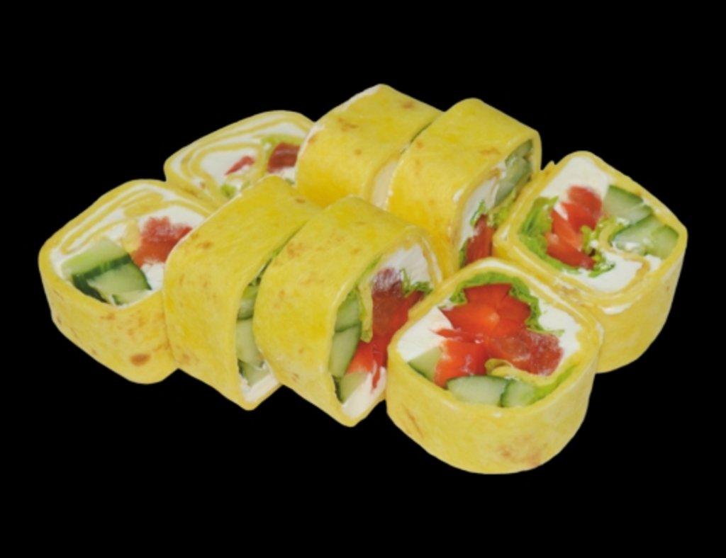 Роллы: Тортилья овощная в ХИТО СУШИ