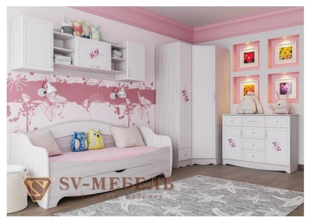 Мебель для детской Акварель 1: Шкаф угловой Акварель 1 в Диван Плюс