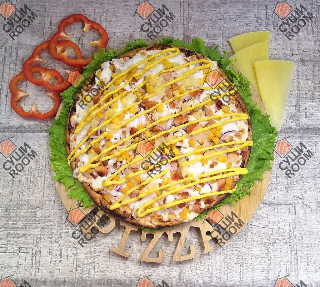 Пицца: Гавайская Де Люкс в Суши Room