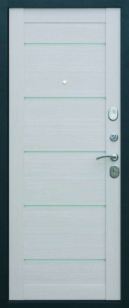 Входные двери (премиум)  от 90-110мм: Входная дверь Чикаго Царга в Пластиковые окна в Сургуте STEKLOMASTER