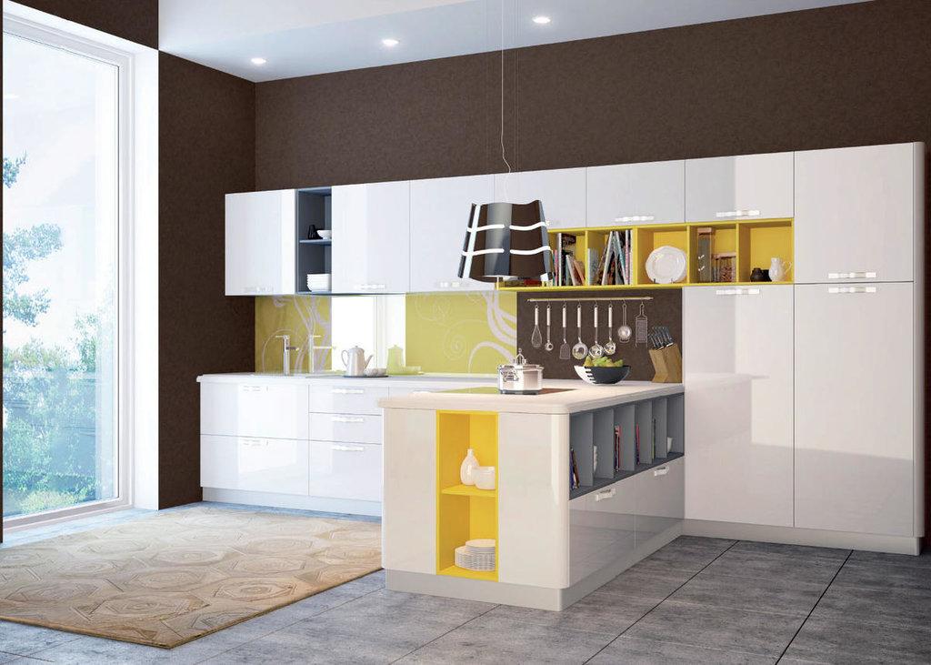 Кухни: Кухня Сити в Модный интерьер